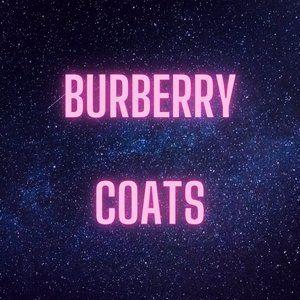 Burberry Coats 🧥 🥳🤩